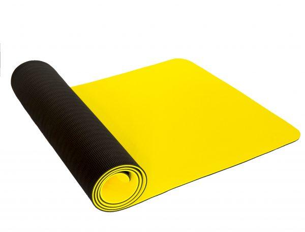 Buy yellow yoga mat, pilates mat, gym mat, fitness mat online Australia