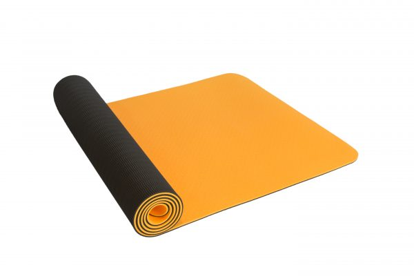 Buy orange yoga mat, pilates mat, gym mat, fitness mat online Australia