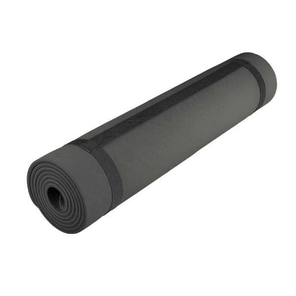 studio black yoga and pilates mat