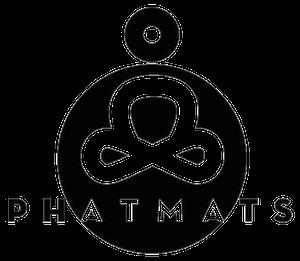 Phatmats Black Logo