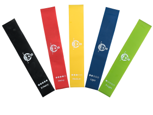Resistance bands - fitness loops set