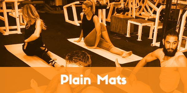 Phatmats fitness mats - plain mats for yoga, pilates and gym